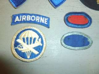 WWII U.S. Army Military Patches Airborne 11th Division Philippines