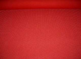 60WxBTY RED COTTON SPANDEX BLEND STRETCH KNIT FABRIC/WHITE DOTS ALL