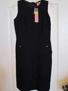 295 TORY BURCH TESSA FORMAL BLACK DRESS SZ 8 NWT