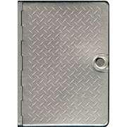 NLT2 Metal Diamond Plate Bible NLT 1414354541