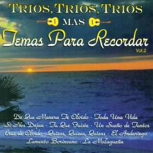 Trios, Trios mas Temas Para Recordar (Vol. 2) Various Artists Music