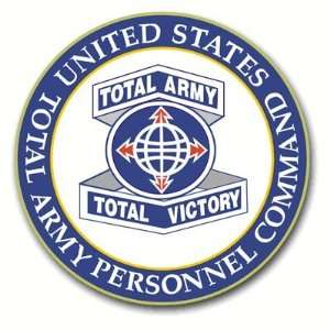 United States Total Army Personnel Command Seal Decal