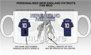 New England Patriots NFL Fan Mug/Cup New Personalised