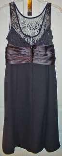 SCARLETT LADIES BLACK SEQUINS COCKTAIL DRESS SZ 10 NWT