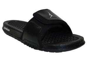 NEW Mens Nike Jordan Hydro 2 Slide Sandal Black/Black 312527 001