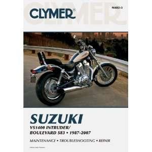 Suzuki VS1400 Intruder Boulevard S83 Clymer Manual