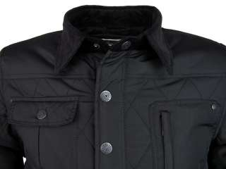Dissident Mens Shotwell Quilted Hunter Style Military Jacket/ Coat