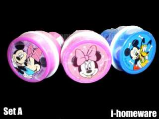 Mickey Minnie Mouse Disney Party Gift Supply Stamp Stampers All in One
