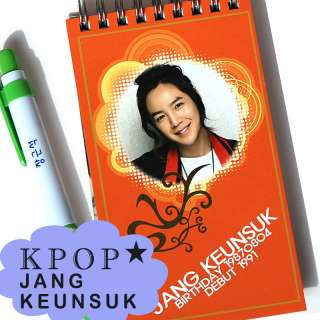 JANG KEUN SUK Marry me Youre Beautiful KOREAN ACTOR MEMO NOTEBOOK