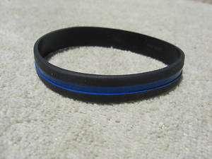 Thin Blue Line Wristband/Bracelet Thin Blue Line Cops