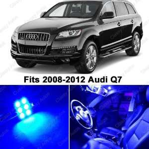 Audi Q7 BLUE LED Lights Interior Package Kit (12 Pieces)