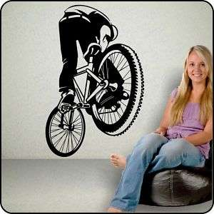 BMX DIRT BIKE Removable Vinyl Wall Decal Sticker pro