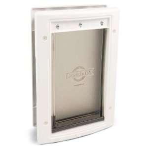 PetSafe Plastic Pet Door Premium White Medium PPA00 10959