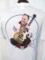vintage LES PAUL CONCERT TOUR GIBSON GUITAR 80s UNWORN retro t shirt L