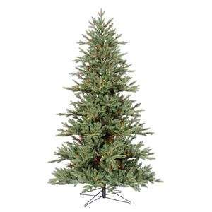 45 Med Blue Noble Fir 250 Multi Color Lights Christmas Tree (G112357