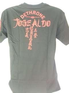 JOSE ALDO Dethrone Royalty Black T shirt NEW