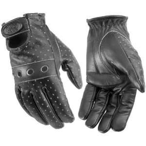 River Road Swindler Gel Palm Black Distressed Leather