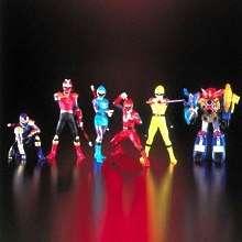 Super Sentai/Power Rangers Harikenja Figure Set (Set of 6)