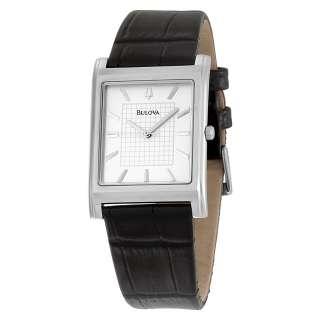 Bulova Mens 96A23 Dress Strap Watch
