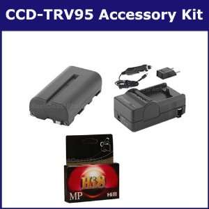 Sony CCD TRV95 Camcorder Accessory Kit includes HI8TAPE Tape/ Media