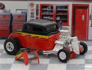 1934 Ford Hot Rod Street Rod Rat Rod Diecast Hotwheels