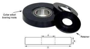 Spiral Insert Planer Shaper Cutter Rub Collar 61596