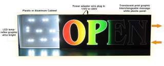 NEW LIGHT BOX SIGN CASH FOR GOLD  LB010 led neon open