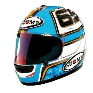 Suomy Spec 1R Extreme Capirossi 09 Motorcycle Helmet