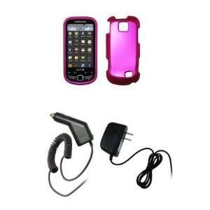 Samsung Intercept M910   Premium Hot Pink Rubberized Snap