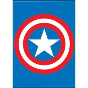Marvel Comics Captain America Shield Logo Magnet 20163MV