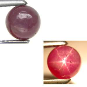 25Ct.Amazing Natural Cabochon Round Star Ruby Loose G