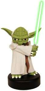 STAR WARS YODA & Lightsaber USB Talking Desk Protector