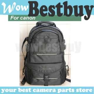 NEW Deluxe Backpack Bag Case for Canon DSLR SLR camera