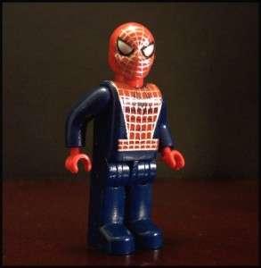 LEGO MINIFIG SPIDER MAN SPIDERMAN DARK BLUE JUNIORS NEW
