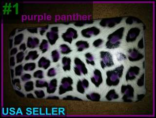 skin/print case for iPhone 3gs/3g leopard tiger w a speck of fake fur
