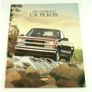 1996 96 Chevrolet Chevy C/K PICKUP Truck BROCHURE 2500