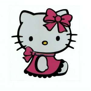 Hello Kitty Pink Cute Sculpture Reflective Decorative Car