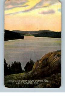 Old Postcard Harbor..Lake Sunapee,New Hampshire/NH