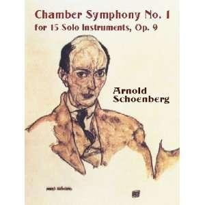 , Op. 9 (Dover Music Scores) [Paperback]: Arnold Schoenberg: Books