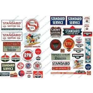 STANDARD VINTAGE GAS STATION SIGNS (42)   JL INNOVATIVE DESIGN