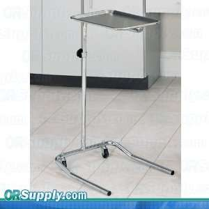Clinton Single Post Mayo Stand with Stainless Steel Tray