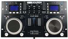 Gemsound CMP500 Dual CD/USB/MP3 Player + Mixer