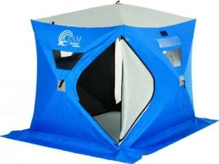 Clam Summit Thermal (6 x 8 Hub) Ice Fishing Shelter House   8848