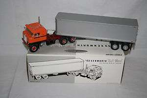 First Gear 1953 Kenworth Bull Nose Coe Tractor w/ 35 Trailer Truck 1