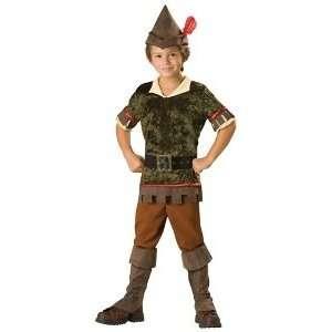 Robin Hood Child Costume Size Medium (6) Toys & Games