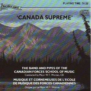 Canada Supreme Canadian Forces School Band Music