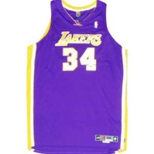 Shaquille ONeal Los Angeles Lakers Autographed Nike