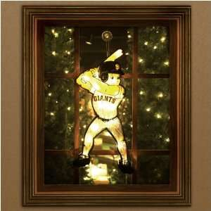 MLB San Francisco Giants Window Light Up Player Sports