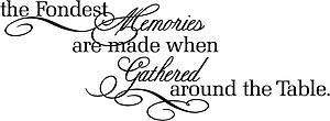 Memories Are Made Vinyl Wall Decals Stickers Quotes Lettering