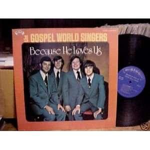 , [Lp, Vinyl Record, SING, 9044] HE GOSPEL WORLD SINGERS Music